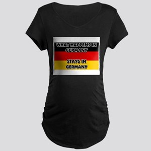 What Happens In GERMANY Stays There Maternity Dark