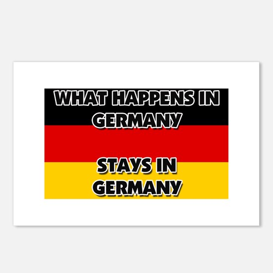 What Happens In GERMANY Stays There Postcards (Pac