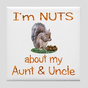 Aunt & Uncle Tile Coaster