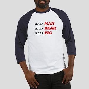 half-man-bear-pig Baseball Jersey