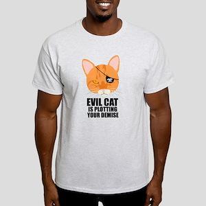 Pirate Cat Light T-Shirt