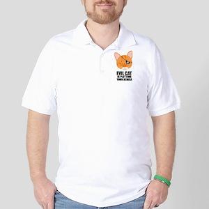 Pirate Cat Golf Shirt