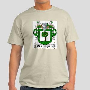 Flanagan Coat of Arms Light T-Shirt