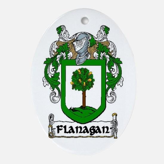 Flanagan Coat of Arms Keepsake Ornament