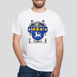 Flynn Coat of Arms White T-Shirt