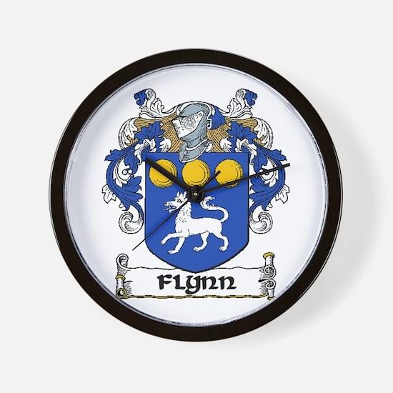 Flynn Coat of Arms Wall Clock