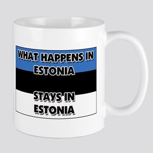 What Happens In ESTONIA Stays There Mug