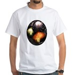 Mexican Fireworks White T-Shirt