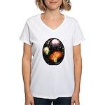Mexican Fireworks Women's V-Neck T-Shirt