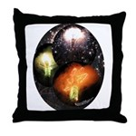 Mexican Fireworks Throw Pillow