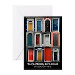 Doors of County Cork Greeting Card
