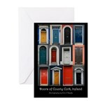 Doors of County Cork Greeting Cards (Pk of 10)