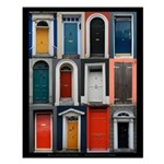 Doors of County Cork Small Poster