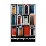 Doors of County Cork Mini Poster Print