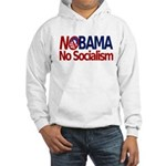 NObama, No Socialism Hooded Sweatshirt