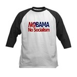 NObama, No Socialism Kids Baseball Jersey