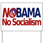 NObama, No Socialism Yard Sign