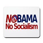 NObama, No Socialism Mousepad