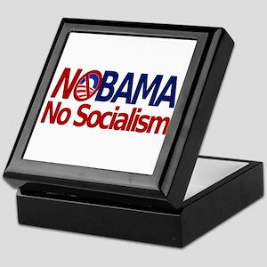 NObama, No Socialism Keepsake Box