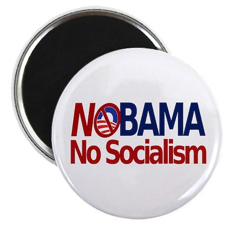 NObama, No Socialism Magnet