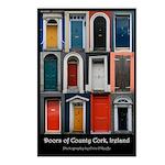 Doors of County Cork Postcards (Package of 8)