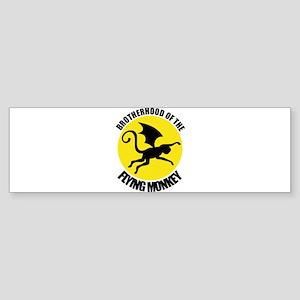 Flying Monkey Bumper Sticker