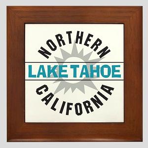 Lake Tahoe California Framed Tile