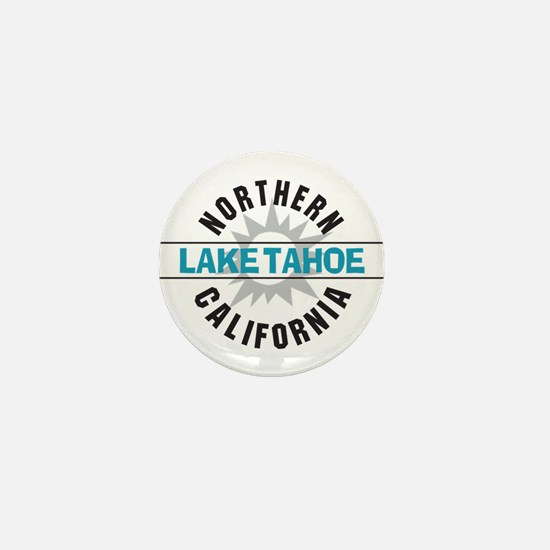 Lake Tahoe California Mini Button