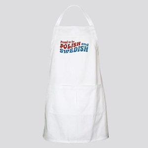 Proud Polish and Swedish BBQ Apron