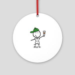 Coffee - Mark Ornament (Round)