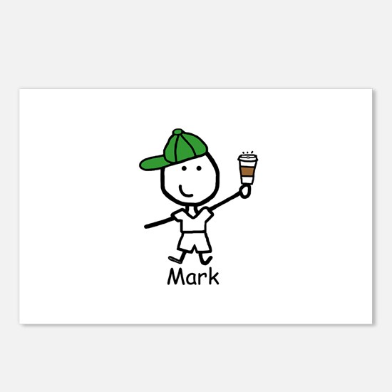Coffee - Mark Postcards (Package of 8)