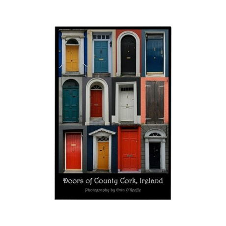 Doors of County Cork Rectangle Magnet