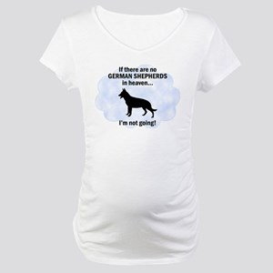 German Shepherds in Heaven Maternity T-Shirt