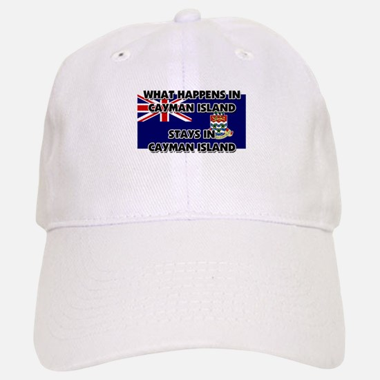 What Happens In CAYMAN ISLAND Stays There Baseball Baseball Cap