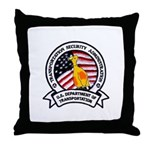 Transportation Safety Throw Pillow