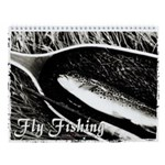Fly Fishing Fine Art Wall Calendar