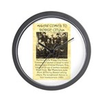 Dodge City Peace Commission Wall Clock