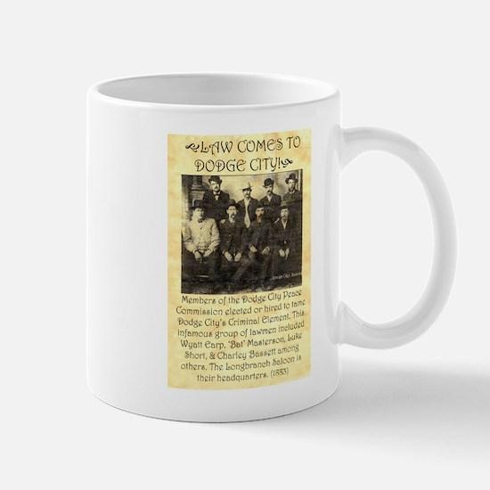 Dodge City Peace Commission Mug