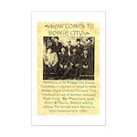 Dodge City Peace Commission Mini Poster Print