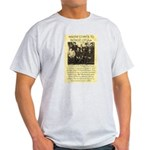Dodge City Peace Commission Light T-Shirt