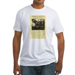 Dodge City Peace Commission Fitted T-Shirt