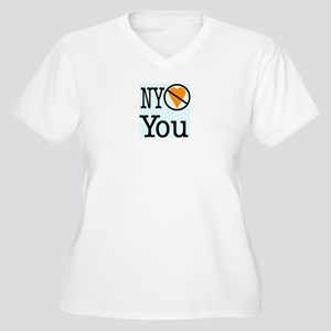 NY Doesn't Love You Women's Plus Size V-Neck T-Shi