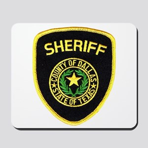 Dallas County Sheriff Mousepad