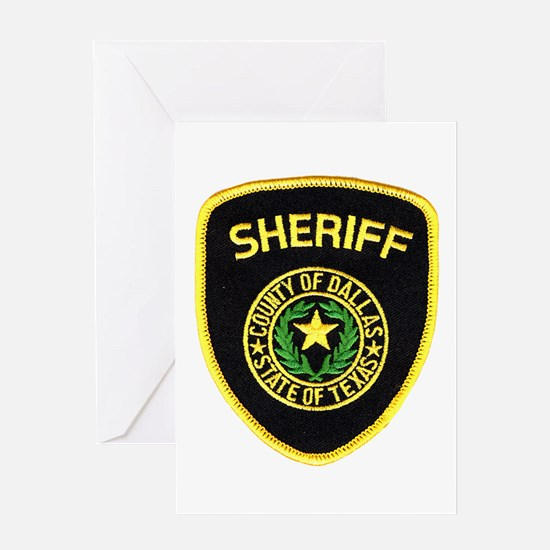 Dallas County Sheriff Greeting Card