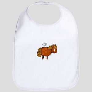 horsing around (no text) Bib