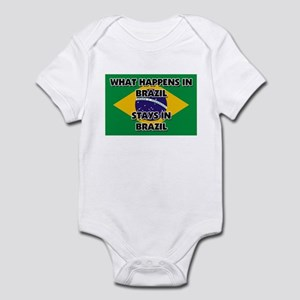 What Happens In BRAZIL Stays There Infant Bodysuit