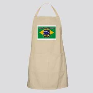 What Happens In BRAZIL Stays There BBQ Apron
