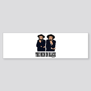 The Men In Black Funny Jewish Bumper Sticker