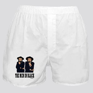 The Men In Black Funny Jewish Boxer Shorts