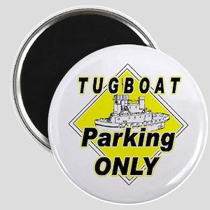 Tug Boat Parking Only Magnet